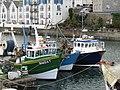 -2019-04-25 Three fishing boats, Brixham Harbour.JPG