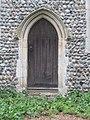 -2020-12-05 Small doorway, south facing elevation, All Saints, Gimingham.JPG