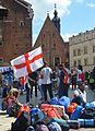 02016 1541 Teilnehmer des Weltjugendtages am Hauptmarkt von Krakau.jpg