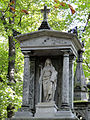 041012 Sculpture and architectural detail at the Orthodox cemetery in Wola - 02.jpg