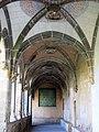 047 Sant Jeroni de la Murtra, claustre, galeria oest, o Galeria Reial.JPG