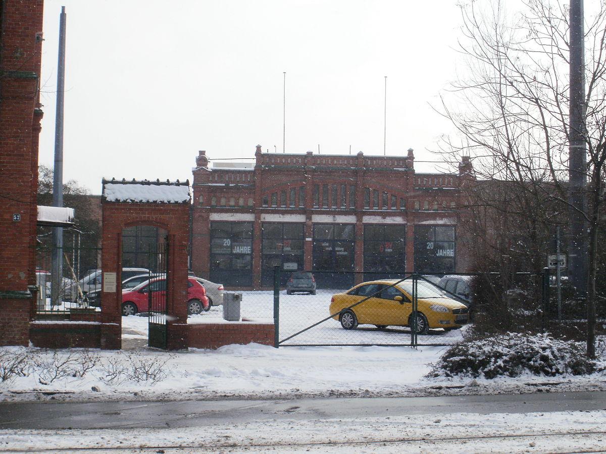 Fußboden Cottbus ~ Betriebshof cottbus mitte u wikipedia
