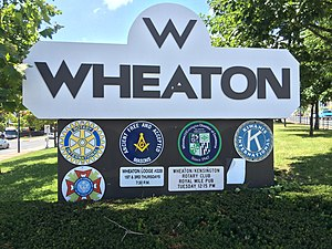Wheaton, Maryland - Welcome sign