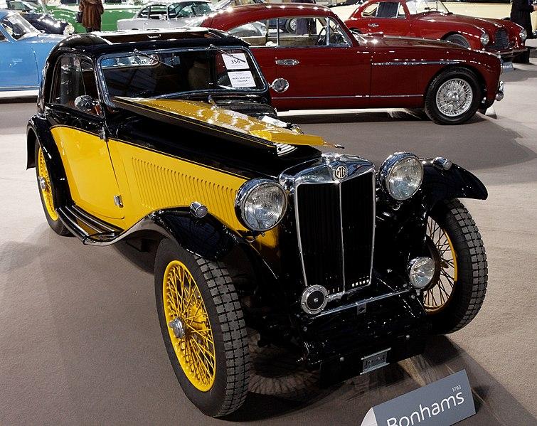 File:110 ans de l'automobile au Grand Palais - MG Midget TA 'Airline' Coupé - 1936 -5.jpg