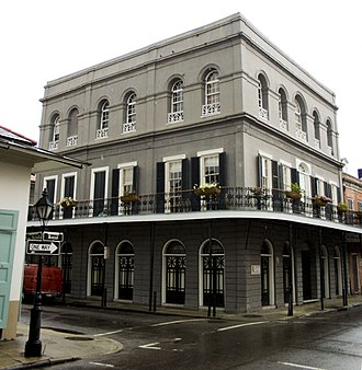 Delphine LaLaurie - The former LaLaurie house at 1140 Royal Street, photographed September 2009