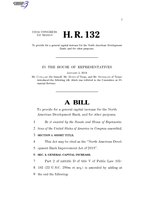 116th United States Congress H. R. 0000132 (1st session) - North American Development Bank Improvement Act of 2019.pdf