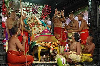 Bhadrachala Ramadasu - Sri Ramanavami Kalyanam utsava at Bhadrachalam Temple, in Telangana