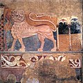 12th-century unknown painters - Lion wall painting - WGA19759.jpg
