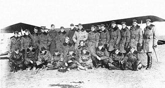 139th Aero Squadron - 139th Aero Squadron, Souilly  Aerodrome, France, November 1918