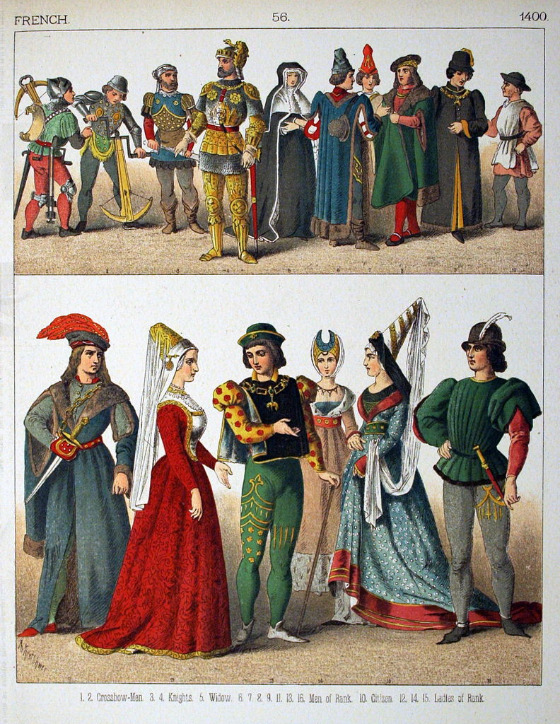 File:1400, French. - 056 - Costumes of All Nations (1882 ...
