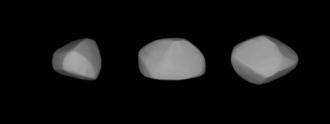 147 Protogeneia - A three-dimensional model of 147 Protogeneia based on its light curve