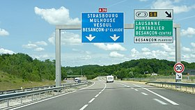 Image illustrative de l'article Autoroute A36 (France)