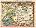 1574 Ruscelli Map of Russia (Muscovy) and Ukraine - Geographicus - Moschovia-porcacchi-1572.jpg