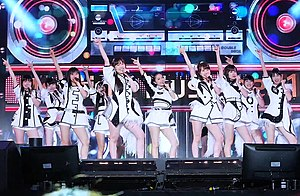 Japanese idol - Morning Musume, the longest running female idol group, also holding the record for the most consecutive top 10 singles for any Japanese artist
