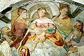 1726 - Milano - Abbazia di Chiaravalle - Gaudenzio Ferrari, Madonna onorata da cistercensi (dett.) - Foto Giovanni Dall'Orto, 31-Oct-2009.jpg