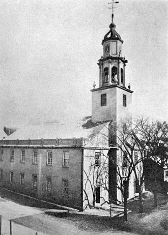 First Congregational Church of Albany - Image: 1795 First Congregational Church of Albany