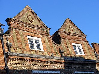 Godalming - 17th Century Gable Ends