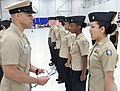 180406-N-IK959-193 HMC Eduardo Cordero inspects NJROTC cadets.jpg