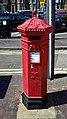 1860s Penfold cast iron Victorian post box at Broadstairs Kent England.jpg