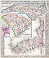 1864 Mitchell Map of North Carolina, South Carolina and Florida - Geographicus - NCSCFL-mitchell-1864.jpg