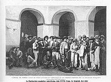 Grupo de presos acusados