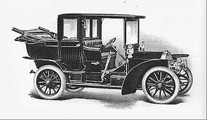 Matheson (automobile) - 1908 Matheson Landaulet