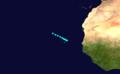 1924 Atlantic tropical storm 6 track.png