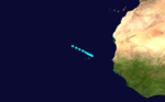 1924 Atlantic tropical storm 6 track.png