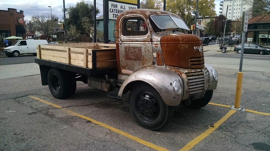 File 1947 Gmc Ff250 Series Cabover Truck Side View Jpg