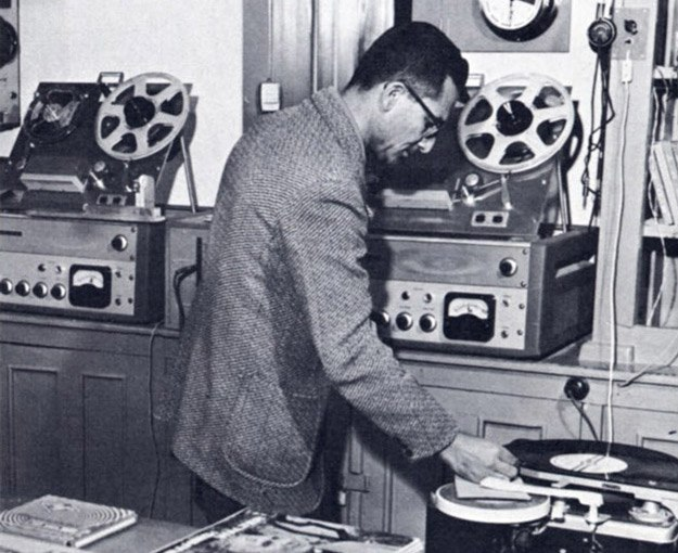 1950s Afghanistan - Afghan radio station