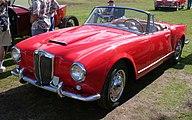 1957 Lancia Aurelia B24 - red - fvl3 (4637136453).jpg