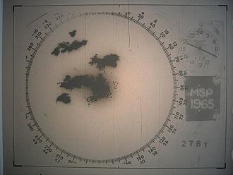 Weather radar - 1960s radar technology detected tornado producing supercells over the Minneapolis-Saint Paul metropolitan area.