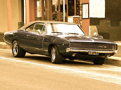 1968 Dodge Charger R-T - Flickr - Highway Patrol Images