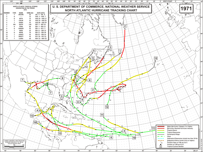 File:1971 Atlantic hurricane season map.png