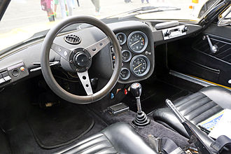 Lombardi Grand Prix - Interior of a 1971 OTAS 820, similar to that of other Lombardis
