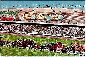 1974 Asian Games - The official inauguration of the 1974 Asian Games in Aryamehr Stadium.