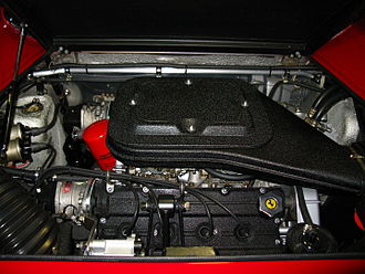 Ferrari GT4 - US-specification engine in a 1975 Dino 308 GT4.