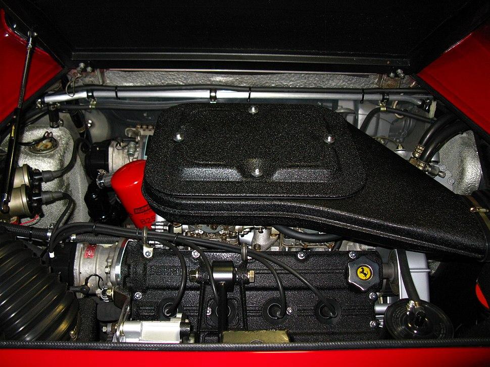 1975 Ferrari Dino 308 GT4 Engine US Version