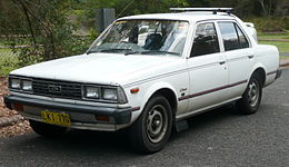 1981 Toyota Corona (XT130) CS sedan (2007-11-25) 01.jpg