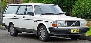 Volvo 200 Series - Volvo 240 GL estate
