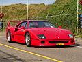 1989 Ferrari F40, licence 59-JVK-5, pic1.JPG