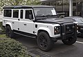 1994 Land Rover Defender 130 by Himalaya, white and black, front right.jpg