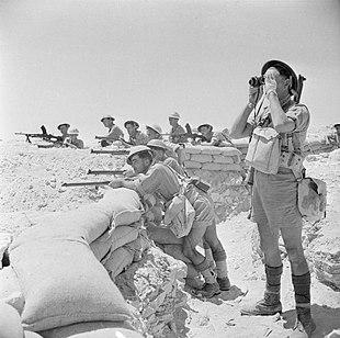 Британська піхота на вогневих