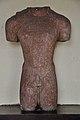 1st Jaina Tirthankara Rishabhanatha Torso - Circa 1st Century CE - ACCN 00-B-36 - Government Museum - Mathura 2013-02-23 4958.JPG