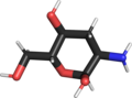 2-amino-2,3-dideoxy-alpha-D-glucoyranose sticks model.png