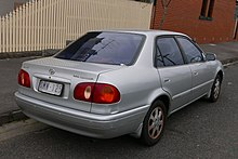 Charming Eighth Generation Toyota Corolla (Europe And Australasia)
