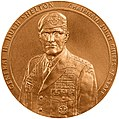 2002 General Henry H. Shelton Congressional Gold Medal front.jpg