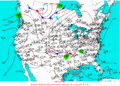 2003-07-13 Surface Weather Map NOAA.png