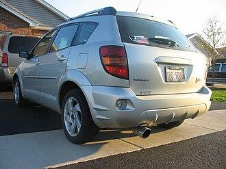 Pontiac Vibe - Pontiac Vibe AWD