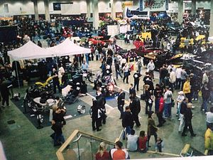 Detroit Autorama - This turn-out for the 52nd Annual Detroit Autorama in 2004 makes the initial attendance-record set in 1961 look small.